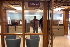 Fishbowl may be renovated for classroom use