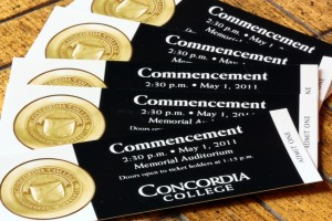 Commencement tickets in high demand for large senior class