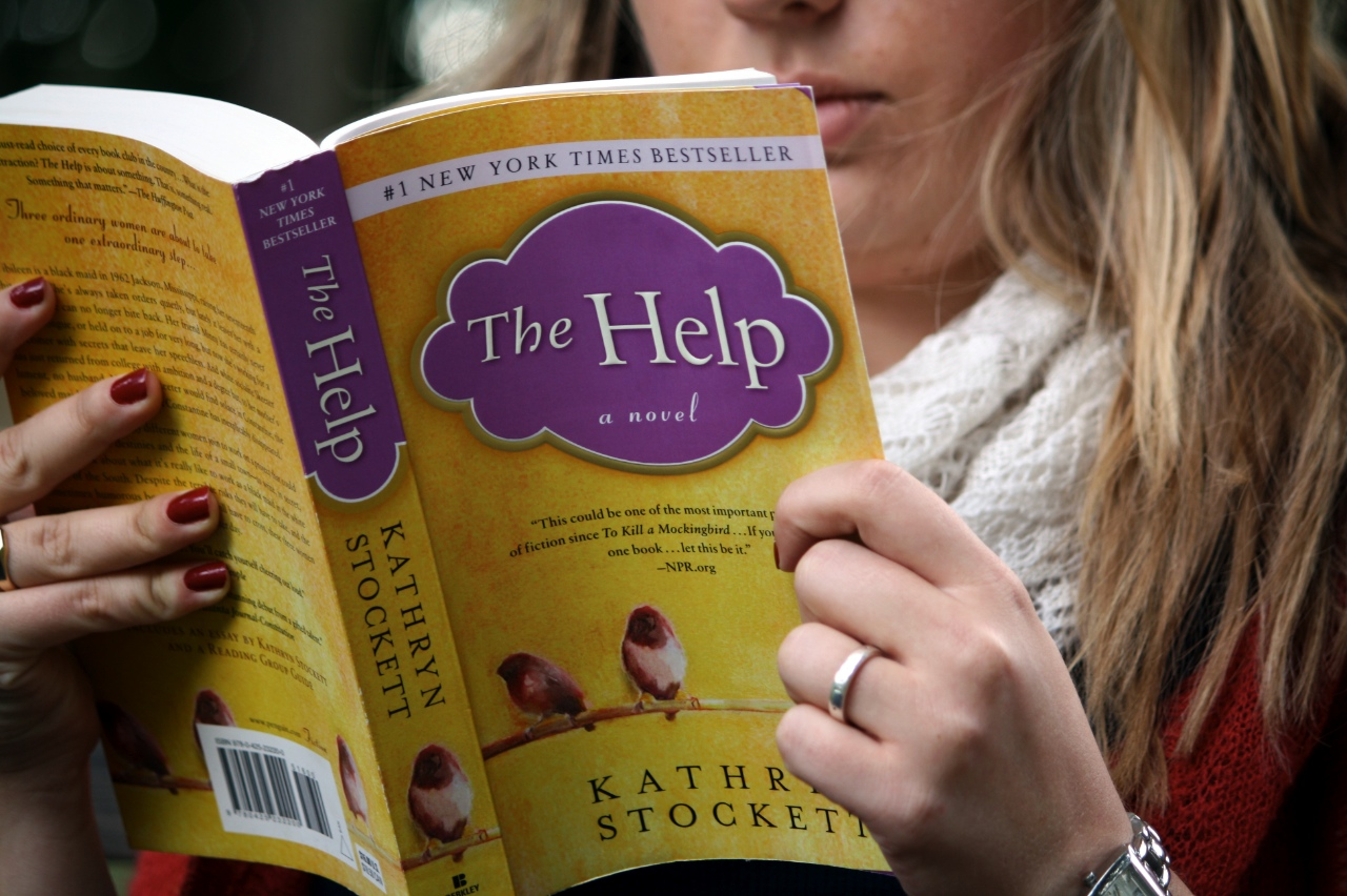"Photo by Rachel Torgerson. ""The Help"" by Kathryn Stockett, is currently number 69 on Amazon's Top 100 Bestseller list."