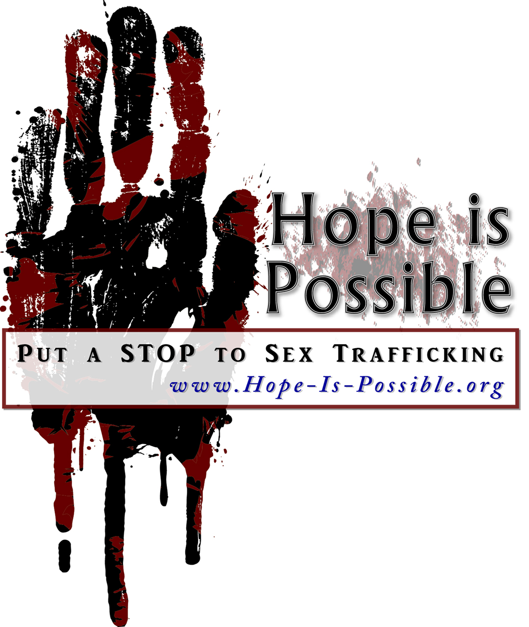 Photo submitted by Bekah Marcis. This is the poster for the upcoming concert that will benefit the fight to end sex trafficking, sponsored by a campus group called Hope is Possible.