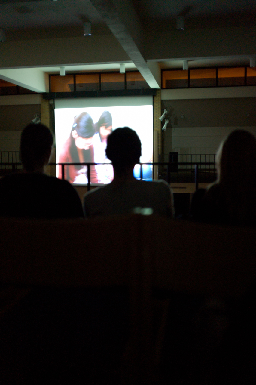 "Photo by Zach Forstrom. Both men and women filed into the Centrum Monday night for a viewing of a documentary entitled ""MissRepresentation,"" which explains how the media hyper-sexualizes women."