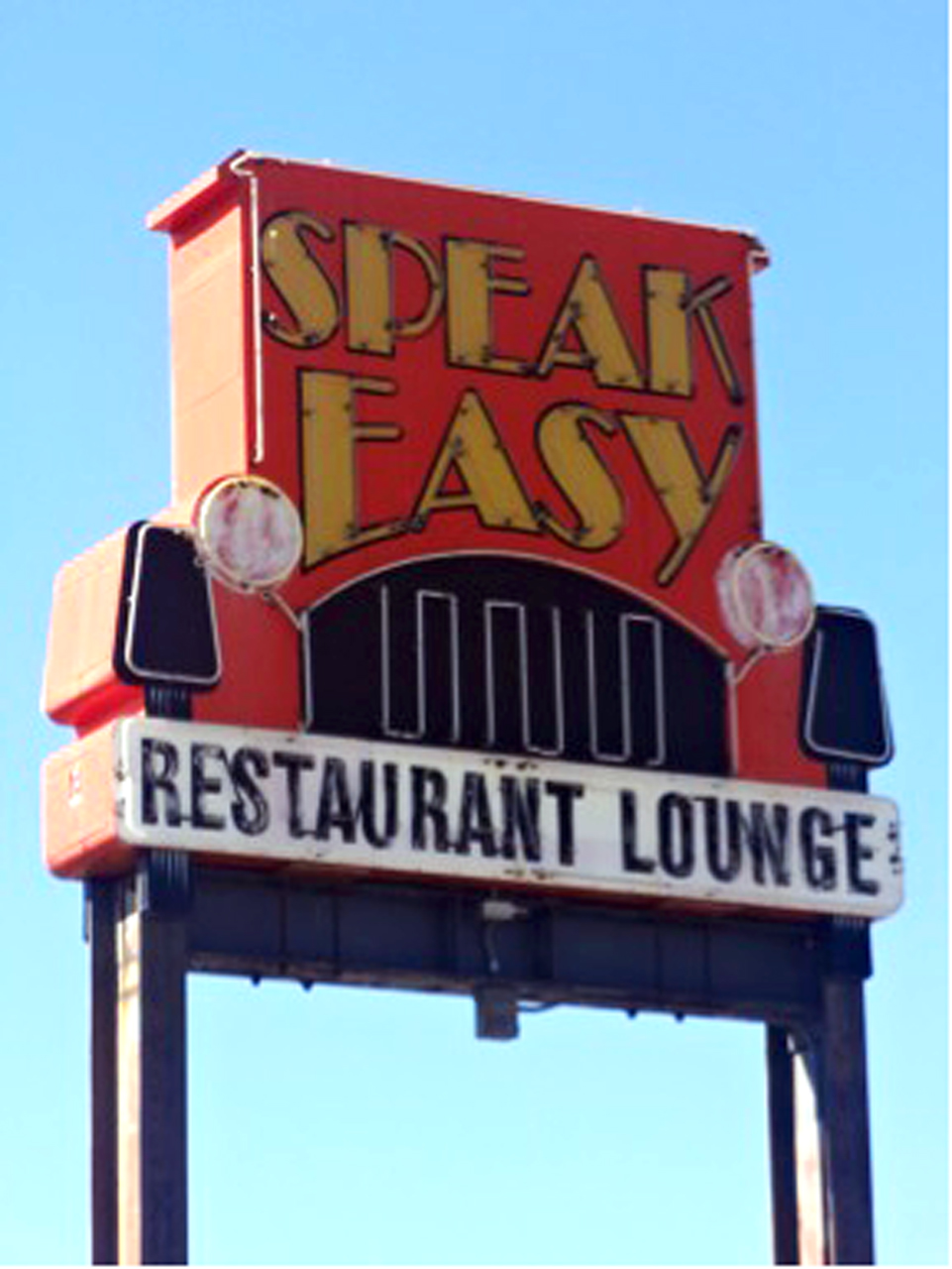 Photo by Kate Gantz. Speak Easy, located just off Eighth Street in Moorhead near Safari Cinema, is a 1920s-themed restaurant and lounge that offers both Italian and American food and drink classics.