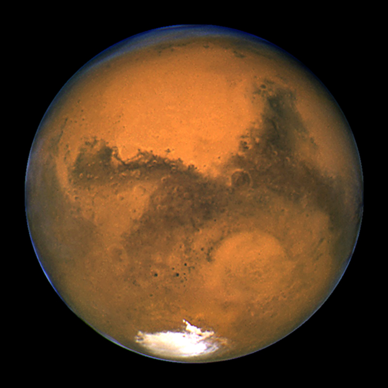 Photo courtesy of NASA.gov. The planet Mars.