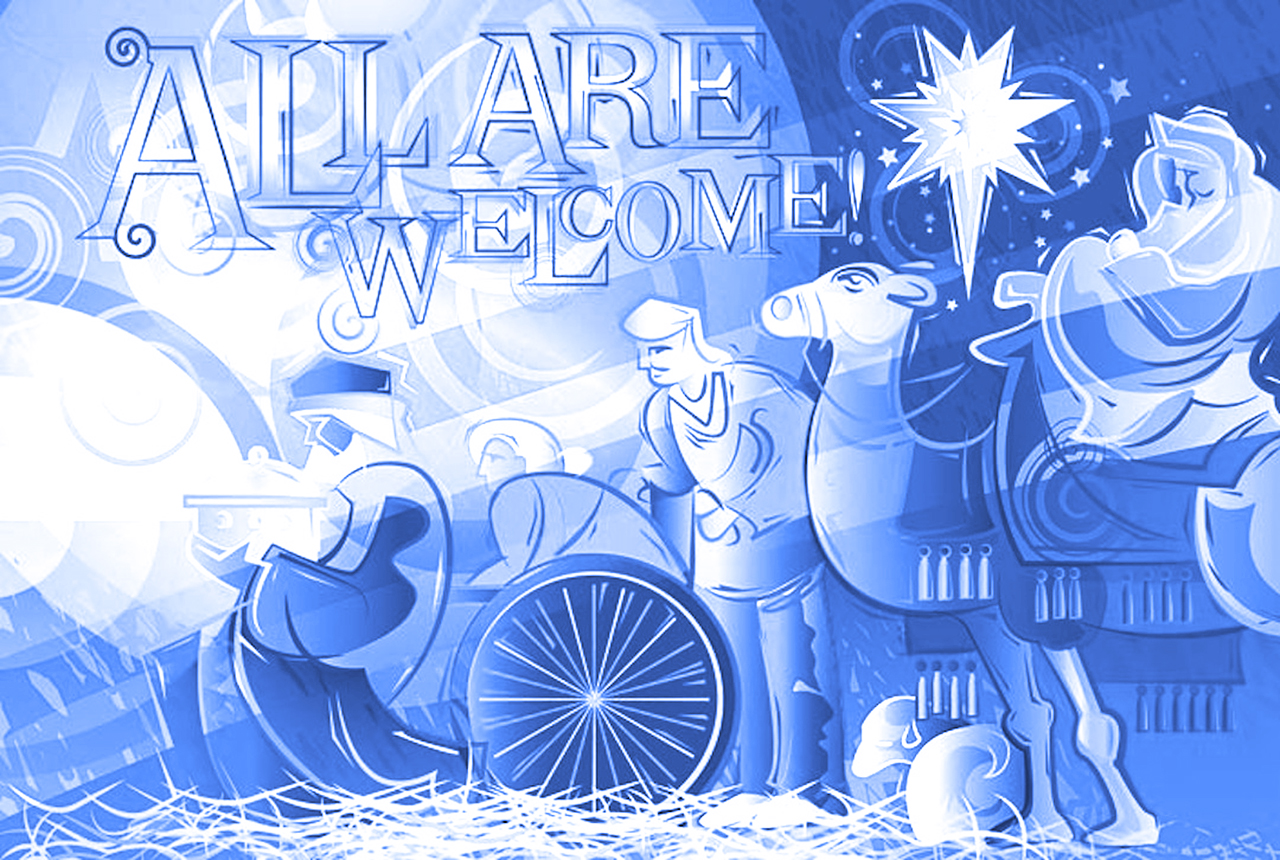 "Submitted. The theme for the 2012 Christmas Concert is ""All Are Welcome""."