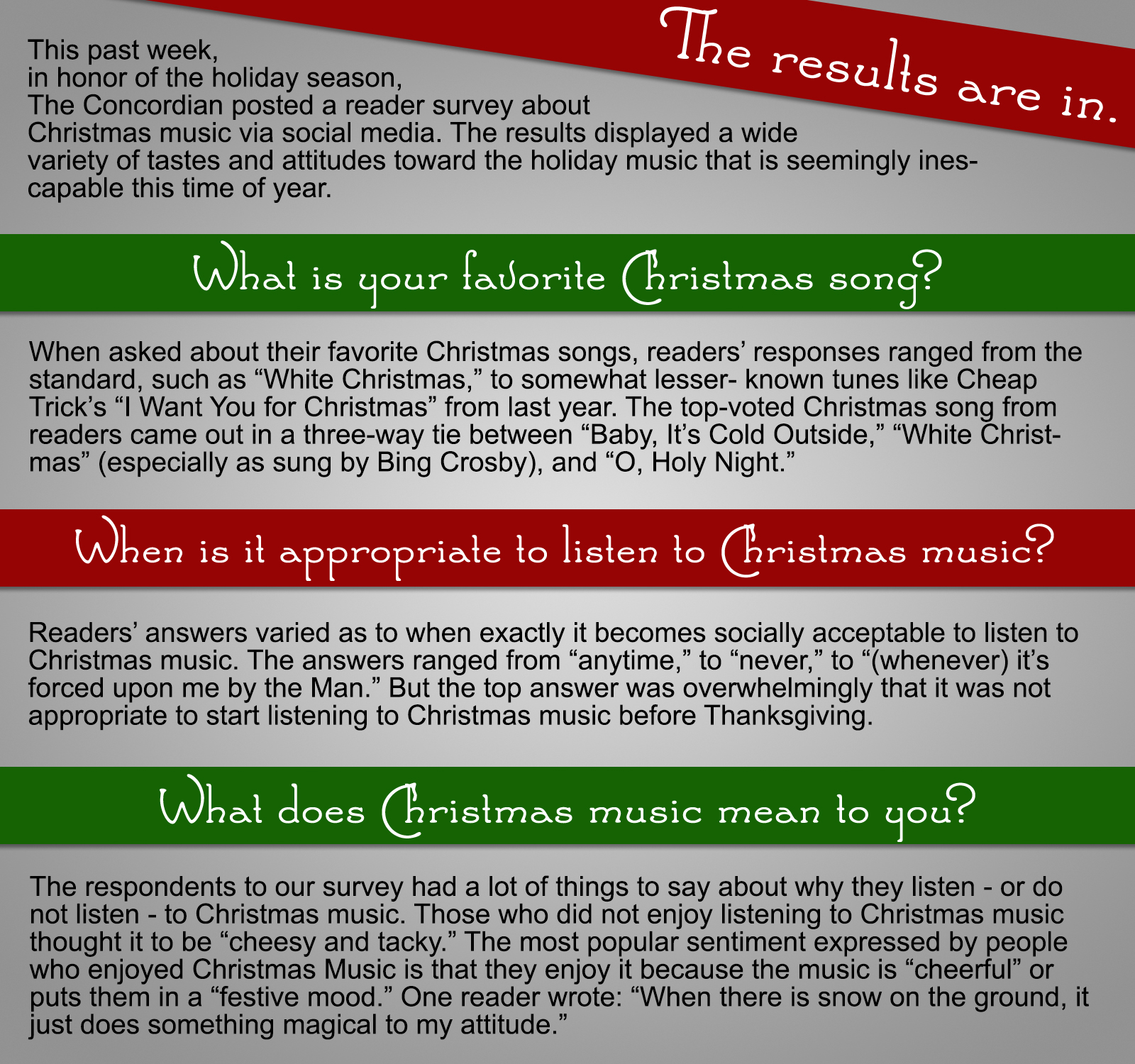 Christmas Music Color