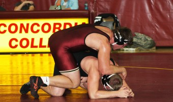 Wrestling their way to the top