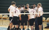 Concordia's club volleyball team is a fun way for students to be involved with a sports team. The team plays other collegiate club teams and even travels to other areas to compete. Submitted photo.