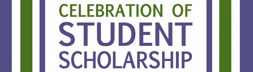 Celebration of Studen Scholarship, logo for event, WEB