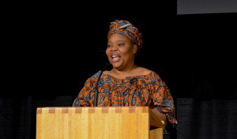 Gbowee preaches peace to FM community