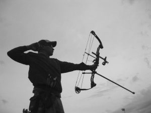 Chris WIger is a junior at Concordia this year. After getting into shooting archery at a young age he worked to compete at the professional level.  Submitted.
