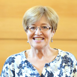 Librarian Connie Jones. Photo courtesy of concordiacollege.edu.