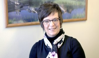 Dr. Sethre-Hofstad will be the new Vice President for Student Development and Campus Life. Photo by Maddie Malat.