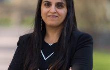 Amena Chaudhry. Photo courtesy of Concordia College.