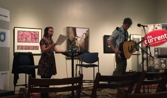 The Current aired out of the Rourke Art Gallery Museum with musical guest Fathom Lane. Photo by Casey Max.