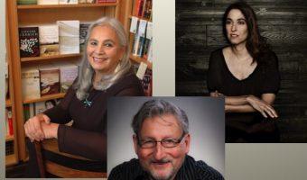 From left: Denise Lajmodiere, Alan Davis, Michelle Leon. Photo courtesy of Concordia College.