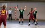Handball is becoming common in Olson Forum. Photo courtesy of Moshe Mukori.