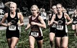 Kara Andersen (left) and Brianna Gruebner (right). Photo courtesy of Cobber SID.
