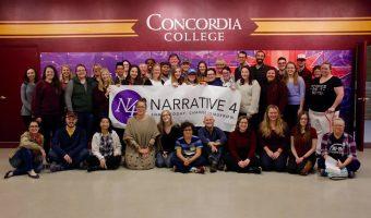 Photo courtesy of Narrative 4 at Concordia.