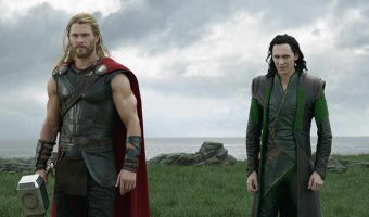 "Thor (Chris Hemsworth) and Loki (Tom Hiddleson) join forces in ""Thor: Ragnarok."" Photo courtesy of Marvel Studios."