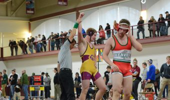 Seven Cobber wrestlers placed in the top three of their weight classes.