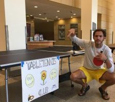 Table Tennis Club hosts first fall tournament