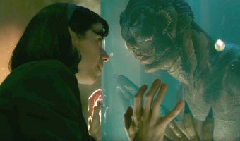 "Sally Hawkins and Doug Jones star in ""The Shape of Water."" Photo courtesy of TSG Entertainment."