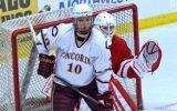 Zach Doerring is Concordia's  fth MIAC MVP in men's hockey. Photo courtesy of Cobber SID.