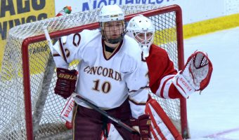 Zach Doerring is Concordia's  fth MIAC MVP in men's hockey. Photo courtesy of Cobber SID.