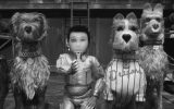 "Atari Kobayashi and some of the dogs in Wes Anderson's ""Isle of Dogs."" Photo courtesy of Indian Paintbrush."