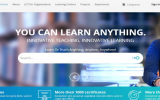 The homepage for Learn or Teach. Photo courtesy of Clever Mukori.