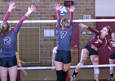 Volleyball has high hopes for successful season finish