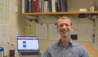 Cobber alum Wyatt Steinke is Concordia's new Manager of Choral Activities. ANNA KNUTSON.