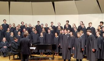 Three of Concordia's choirs, Cantabile, Kantorei and Chapel Choir, performed on Sunday, Oct. 7.