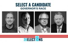 Tim Walz won the 2018 midterm election for governor of Minnesota. MPR NEWS.
