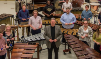 The Concordia College Percussion Ensemble consists of musicians from all areas of the music department.