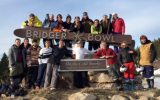 The Concordia Alpine Ski and Snowboard Club during their 2016 excursion to Bridger Bowl in Montana.